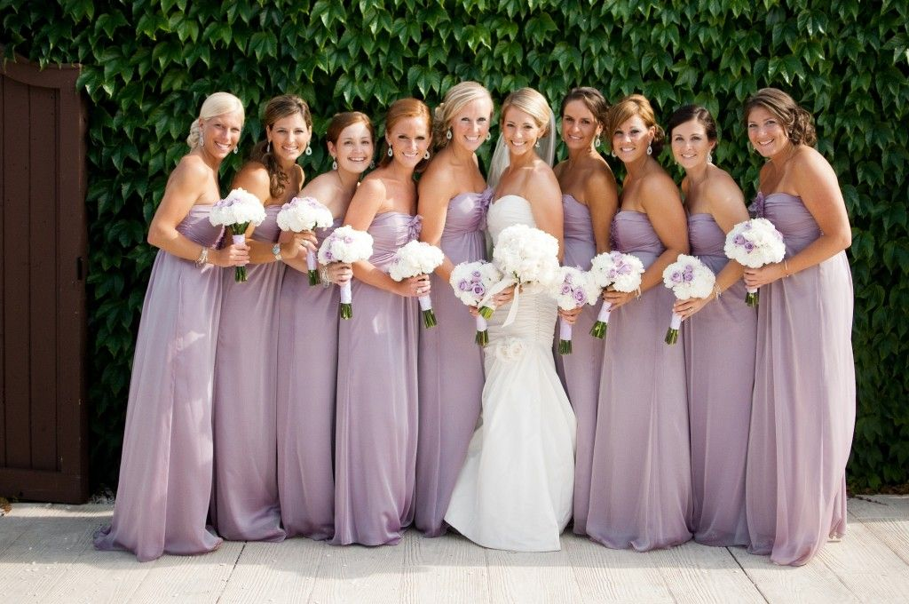 Lilac Bridesmaid Dresses Lavender