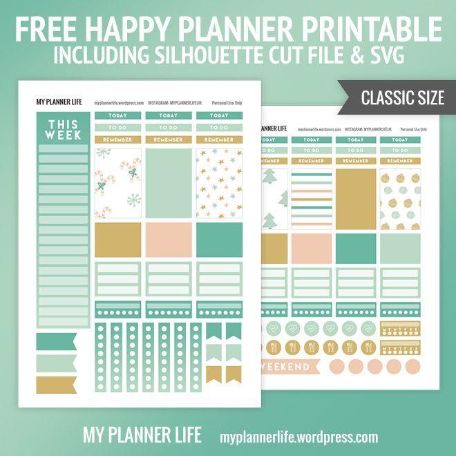 Free Printable – Snow Mint | Christmas + Winter Planner ...
