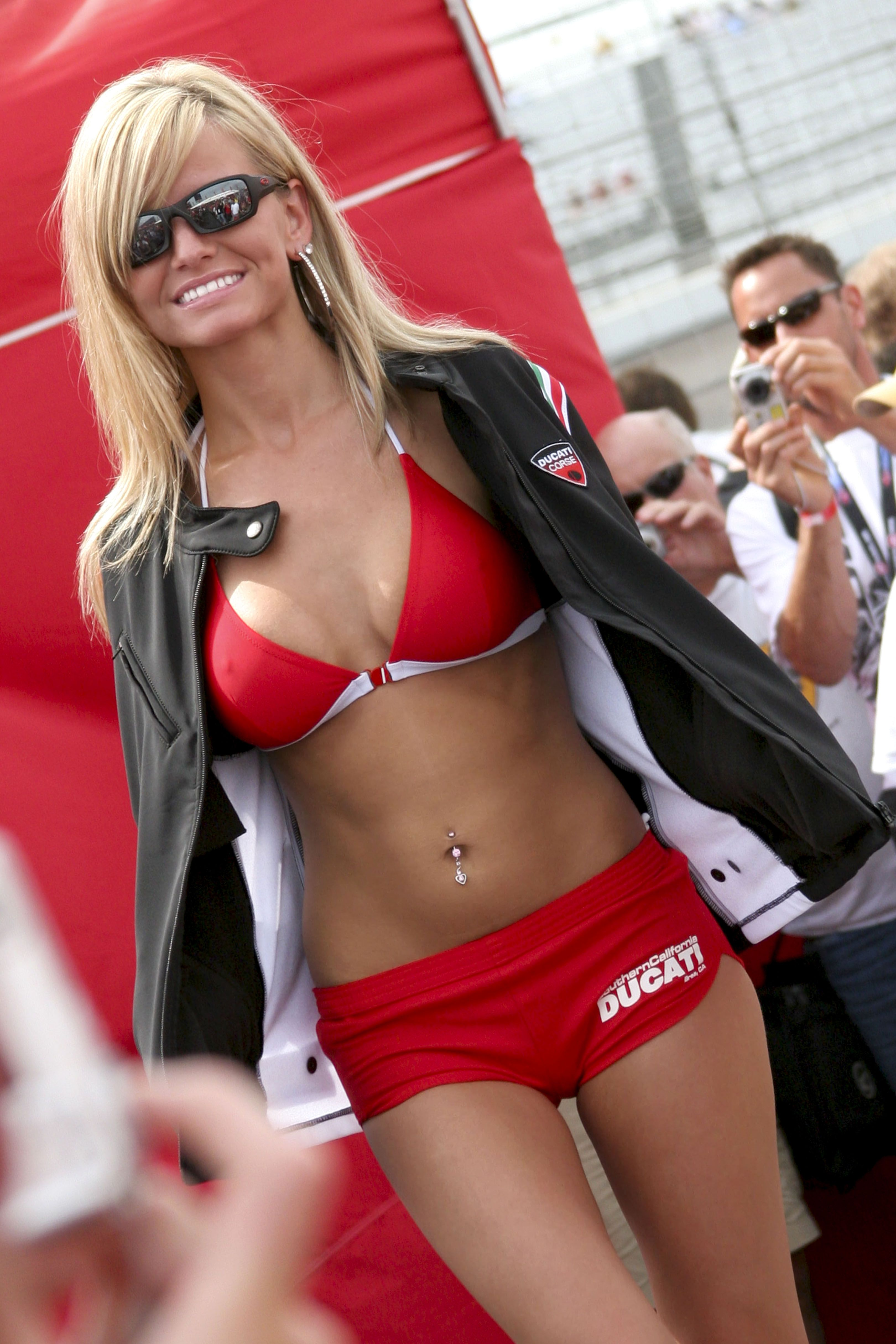 Ducati Monster  And Babes
