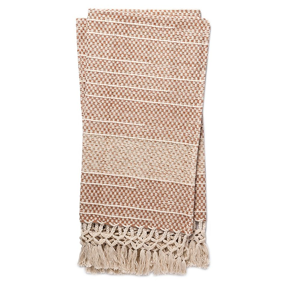 Magnolia Home By Joanna Gaines Emry Throw Blanket In Blush #magnoliahomesjoannagaines