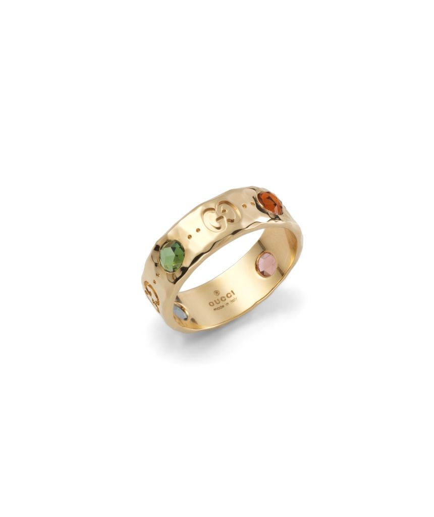 Gucci Icon ring with gemstones BekmETyf