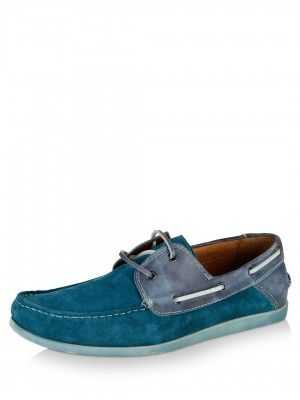 Steve Madden Suede Upper Boat Shoes available on koovs