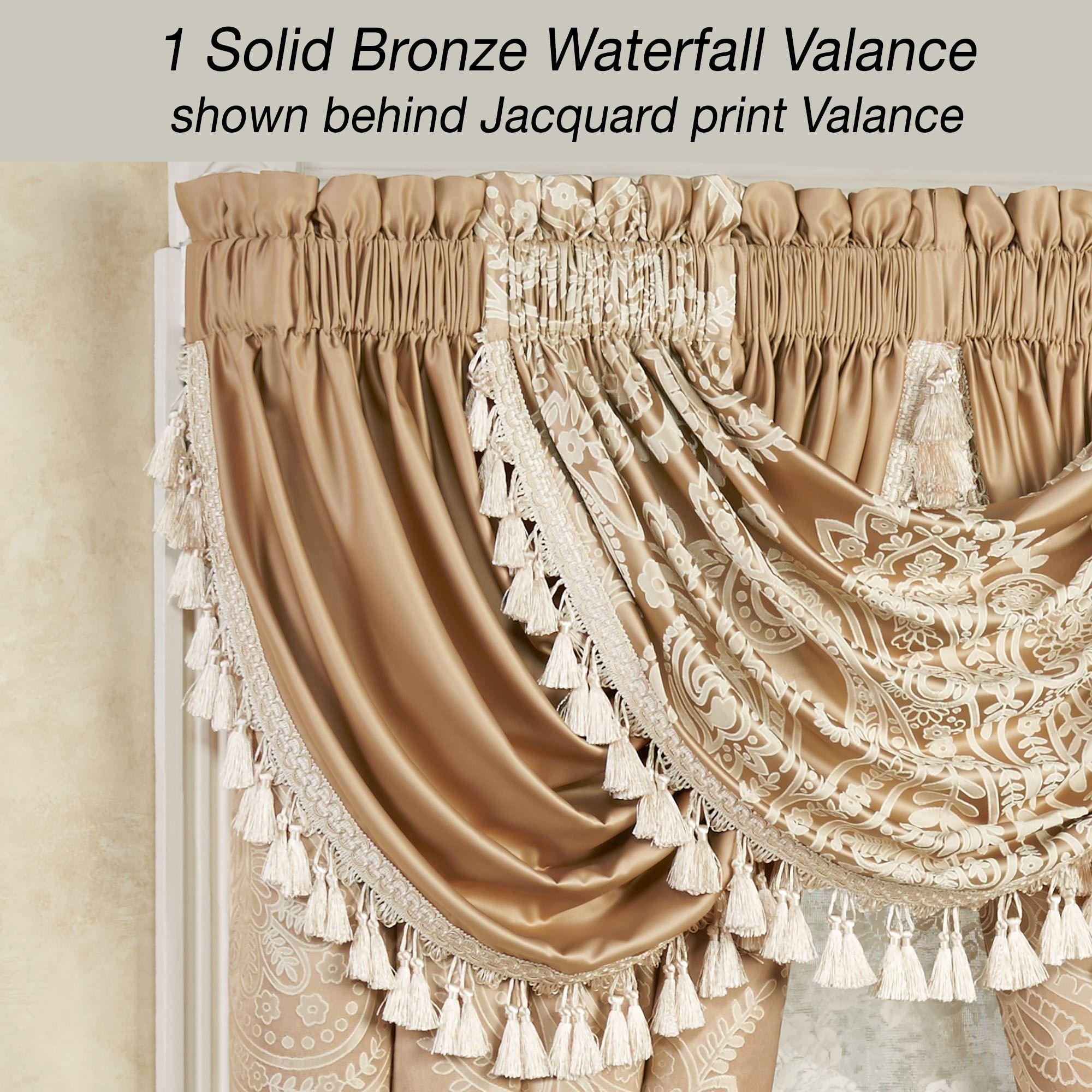 Monarch Golden Bronze Comforter Bedding Bed Comforters Gold Pillows Curtain Decor