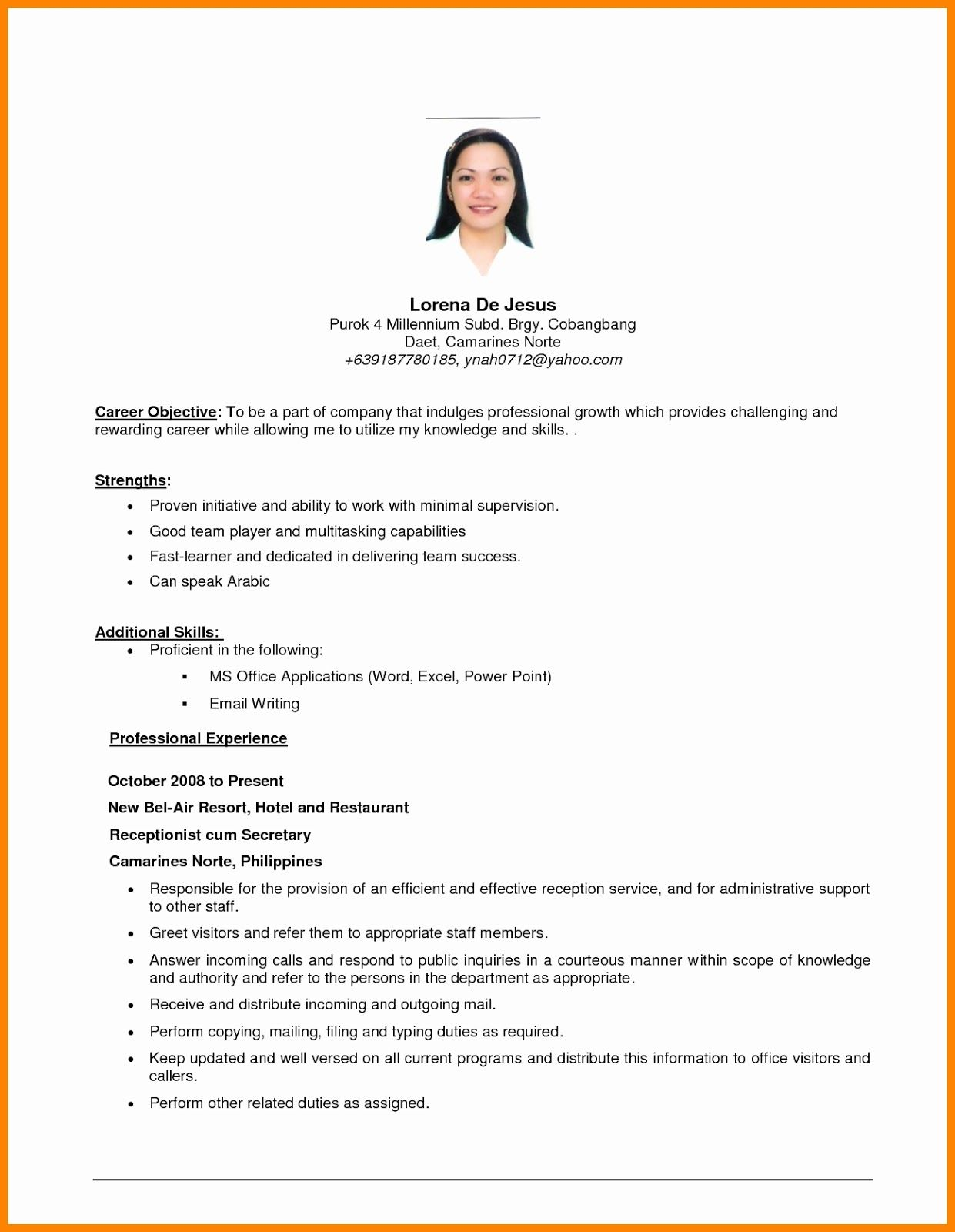 20 Caregiver Job Description Resume in 2020 Caregiver
