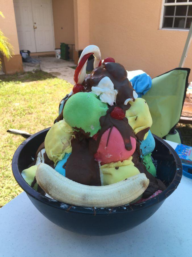 Rugrats Ice Cream Mountain : rugrats, cream, mountain, Rugrats, Party, Cream, Mountain, Cake,, Party,