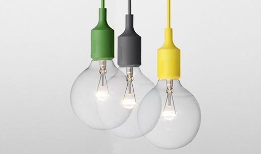 Muuto Usa E27 Socket Lamp By Mattias Stahlbom Northern Icon