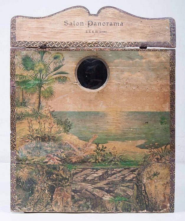 Salon Panorama Officiel: 1875-1895, DRG Pat. No. 405557. 50