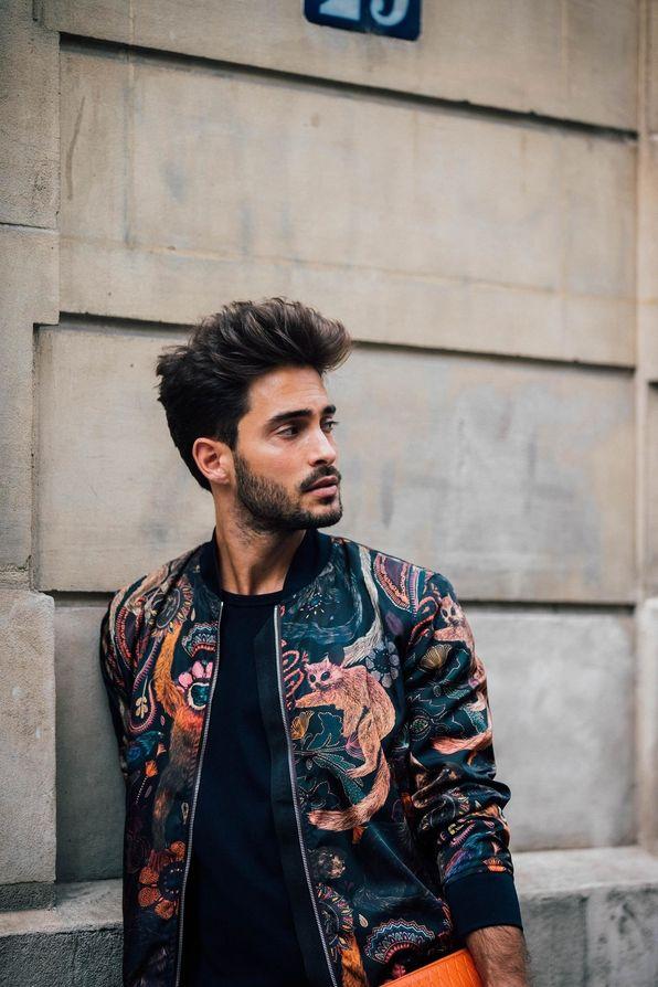 429b4a362819 Street Style à la Fashion Week homme printemps-été 2018 à Paris