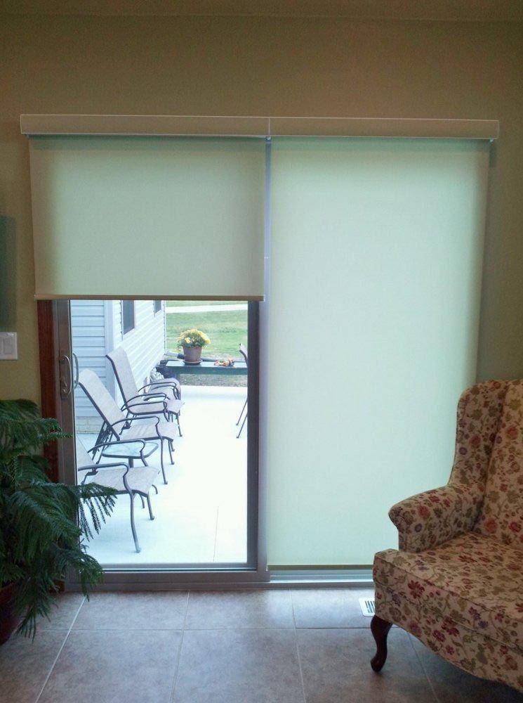 Roller Shades For Sliding Patio Doors Door Coverings Glass Door