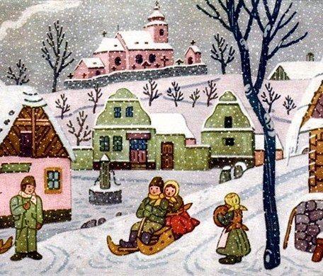 zima vánoce obrázky - Hledat Googlem