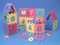 Niebezpieczne puzzle piankowe