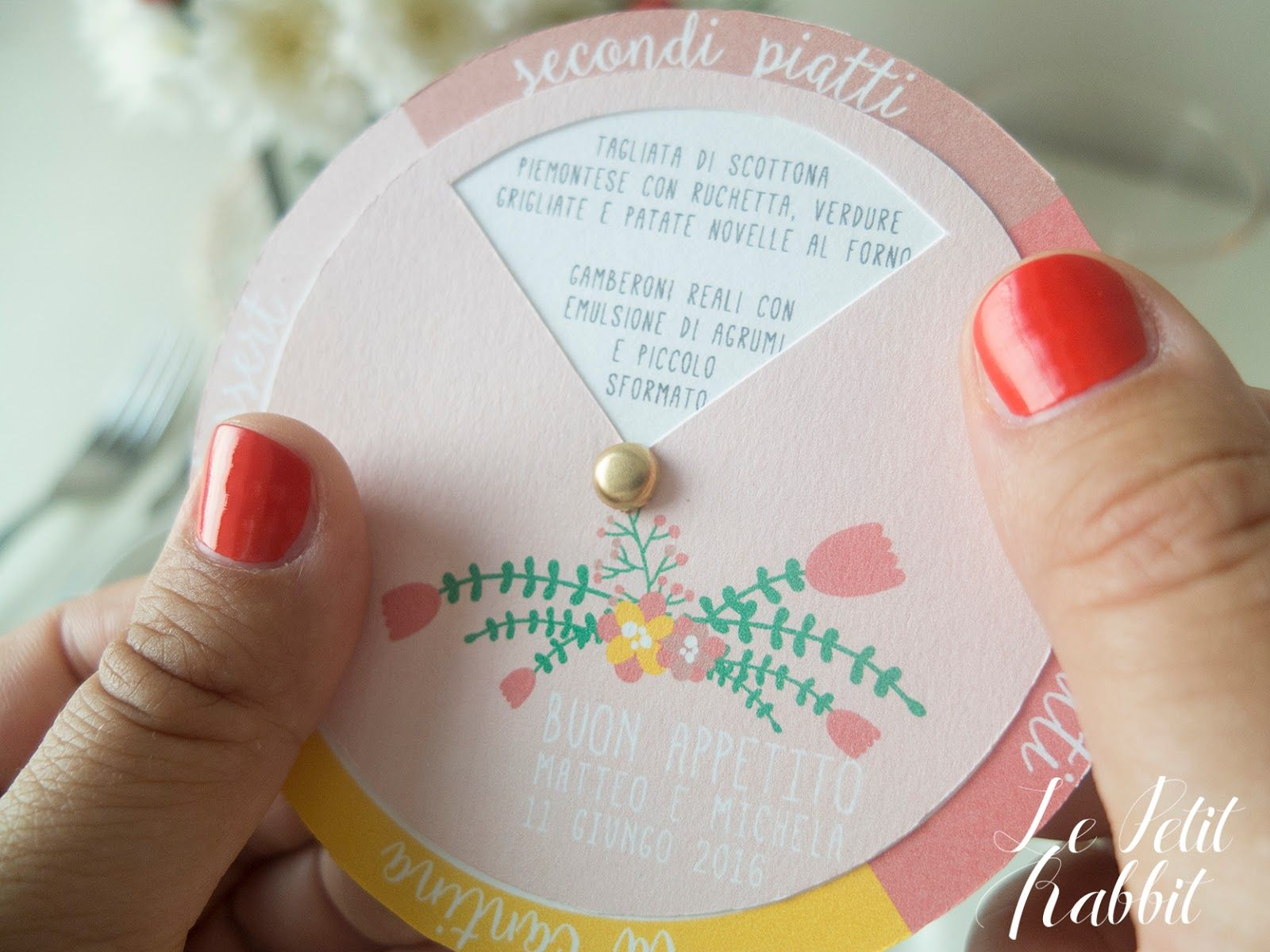 Le Petit Rabbit: [WEDDING] Wedding Tips #02: il Menù