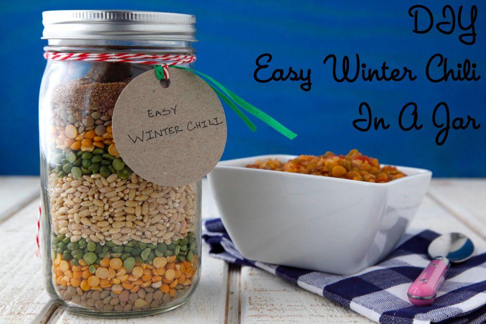 Easy Winter Chili | Rezept | JAR MEALS | Pinterest | Geschenke aus ...