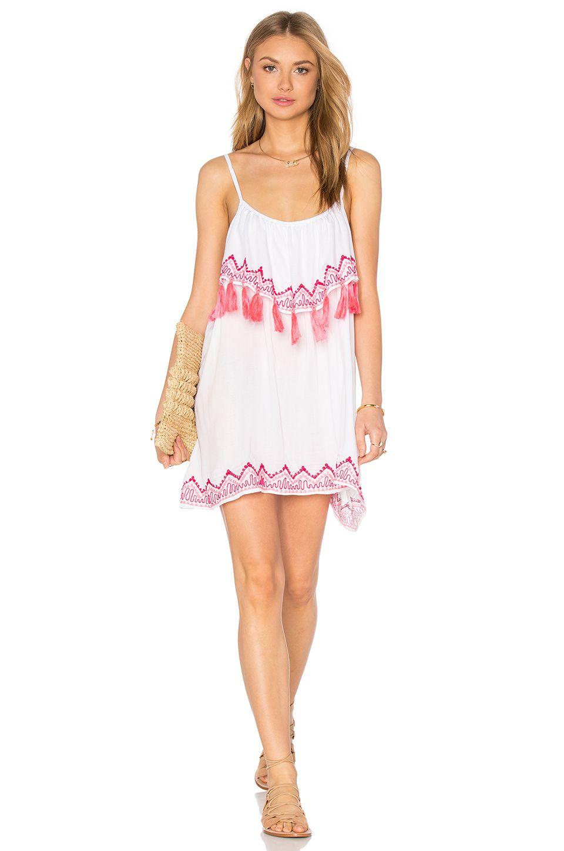 4371e5bc0afb Tiare Hawaii Holter Dress en Blanco   REVOLVE   moda16   Pinterest ...