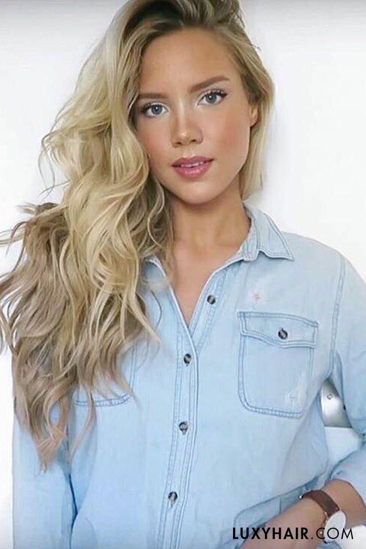 Dirty Blonde 18 20 160g Pinterest Blondes Hair Extensions