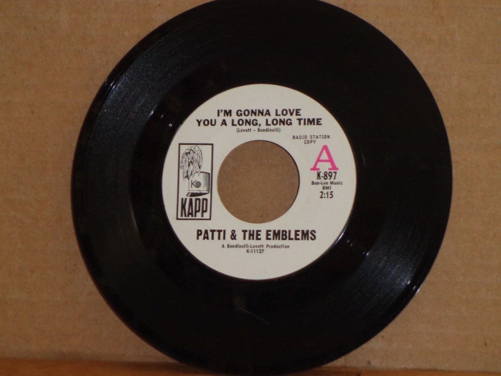 archived! $ 550 | Northern Soul    Patti & The Emblems ( Rare ) #vinyl https://t.co/OrOlHuP3pD https://t.co/CKWPnD2m6z
