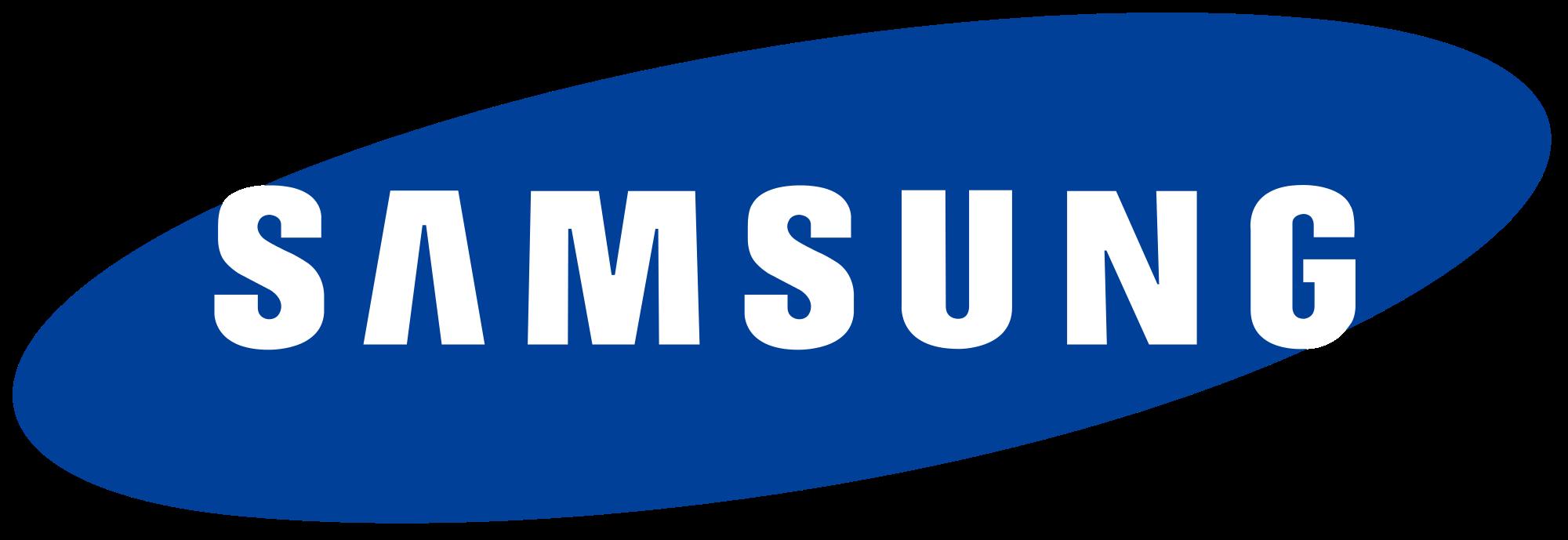 Original Samsung logo 1294 Free Transparent PNG Logos