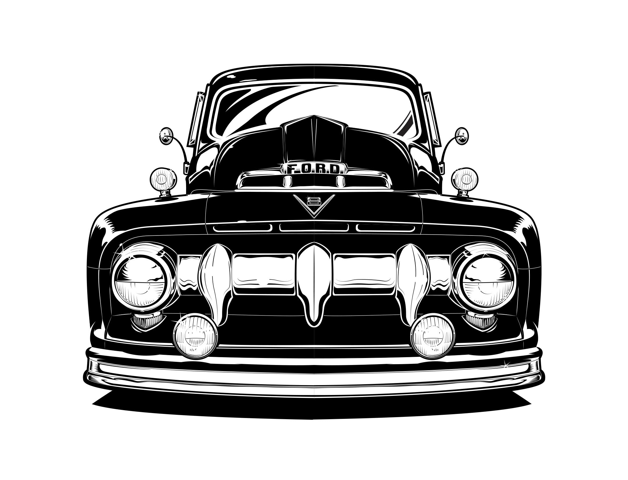 Line Art Vector Illustrator : Stylized vector art technical illustrator