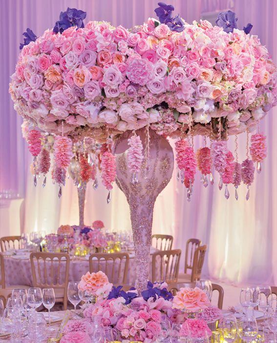 Celebrity Wedding Flowers Centerpieces: 5 Wedding Flower Design Ideas From Celebrity Designer
