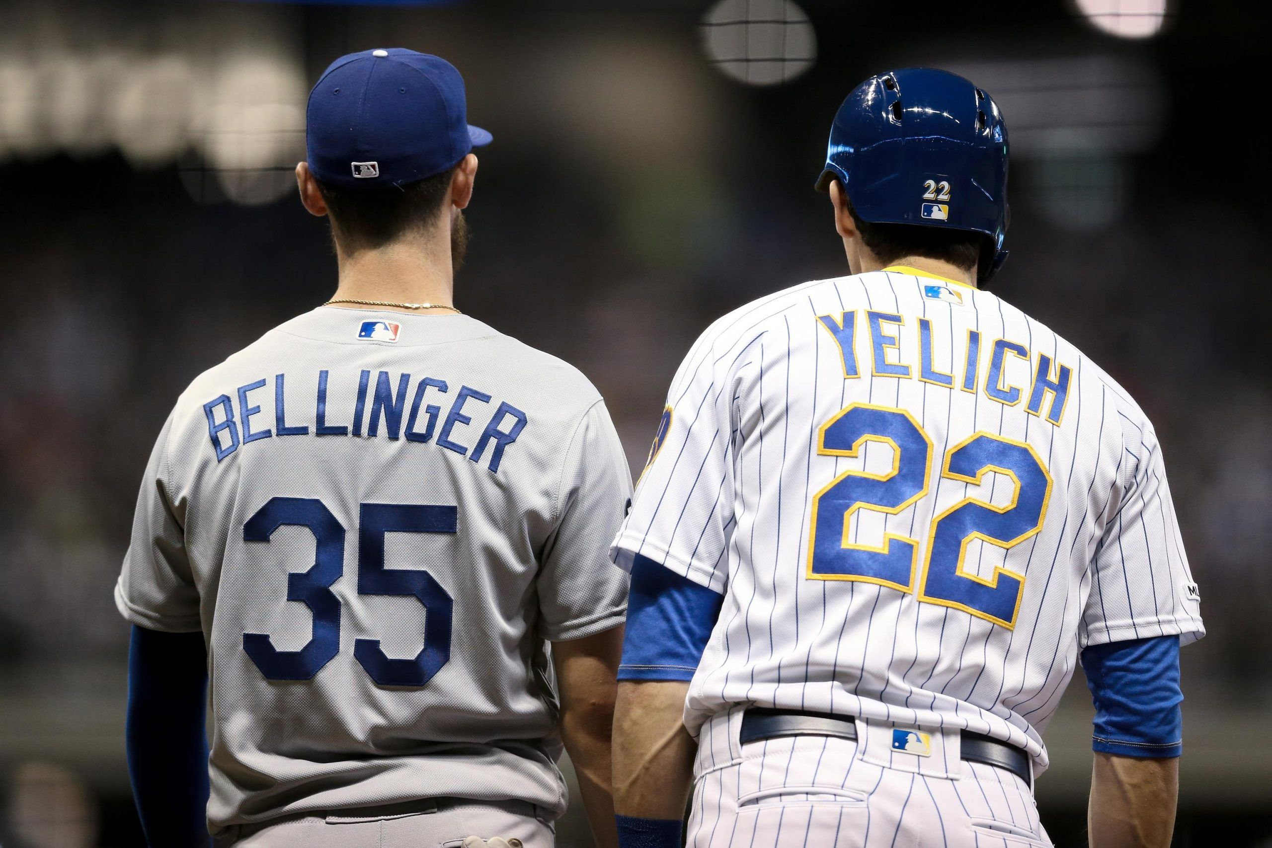 Hace Un Ano Yelich Bellinger Inician Lucha Por Mvp Christian Yelich Cody Bellinger Cody Bellinger And Christian Yelich