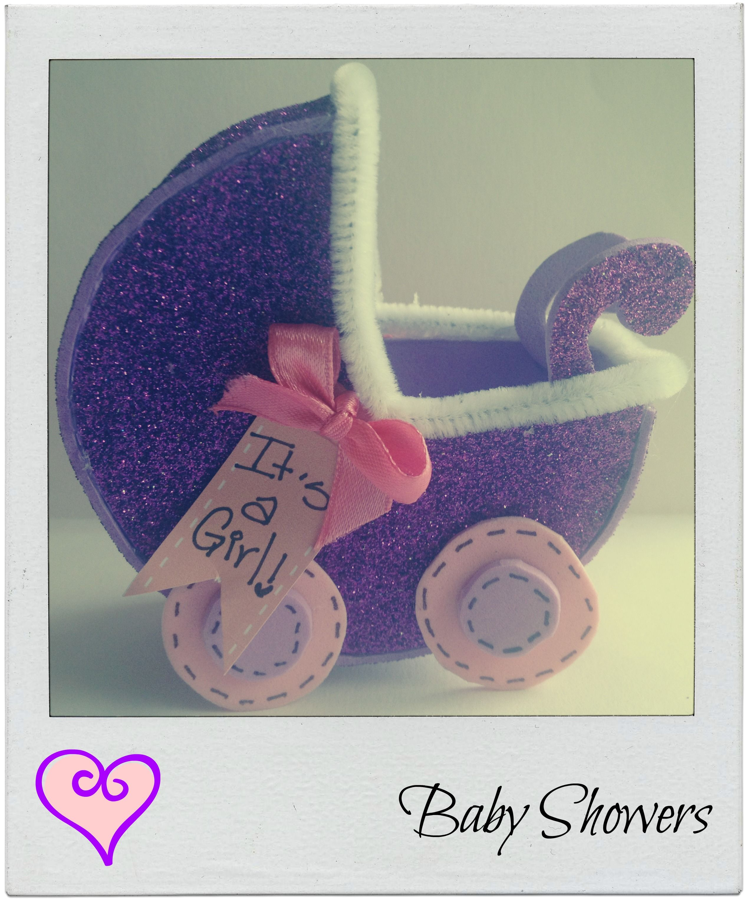 Lindo carruaje para souvenir de baby shower!!!