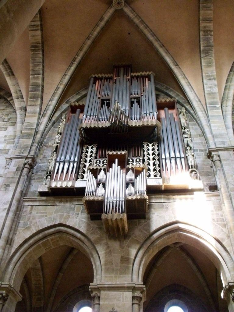 Beautiful pipe organ