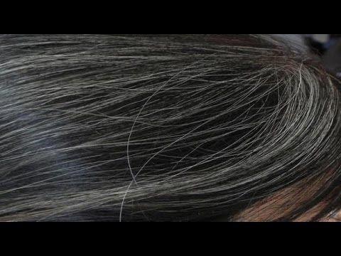 حل جزري لعلاج شيب الشعر نهائيا القضاء علي الشعر الابيض للابد وبدون ر Natural Gray Hair Natural Hair Styles Grey Hair Problem