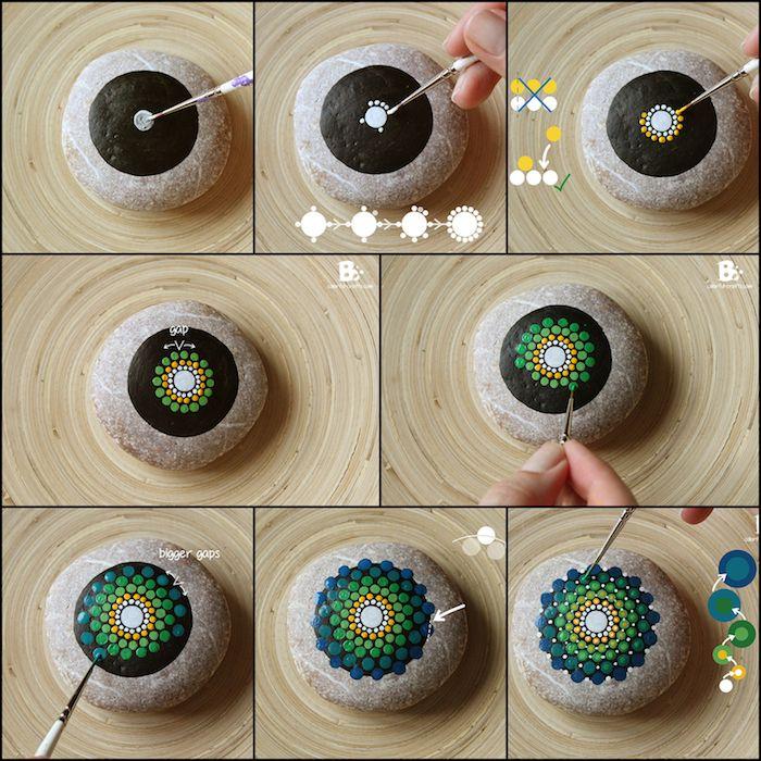 ▷ 1001 + kreative und leichte Ideen zum Steine bemalen
