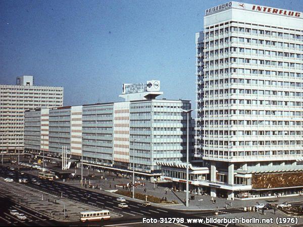 Bauten Am Alexanderplatz Berlin Geschichte Berlin Stadt Ostberlin