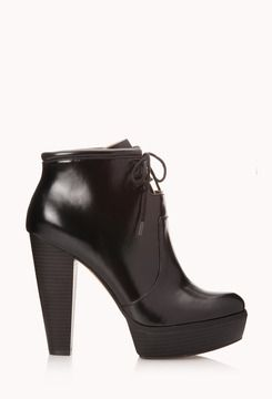 edc37884a640 Forever 21 Modernist Platform Booties - these look comfortable too ...