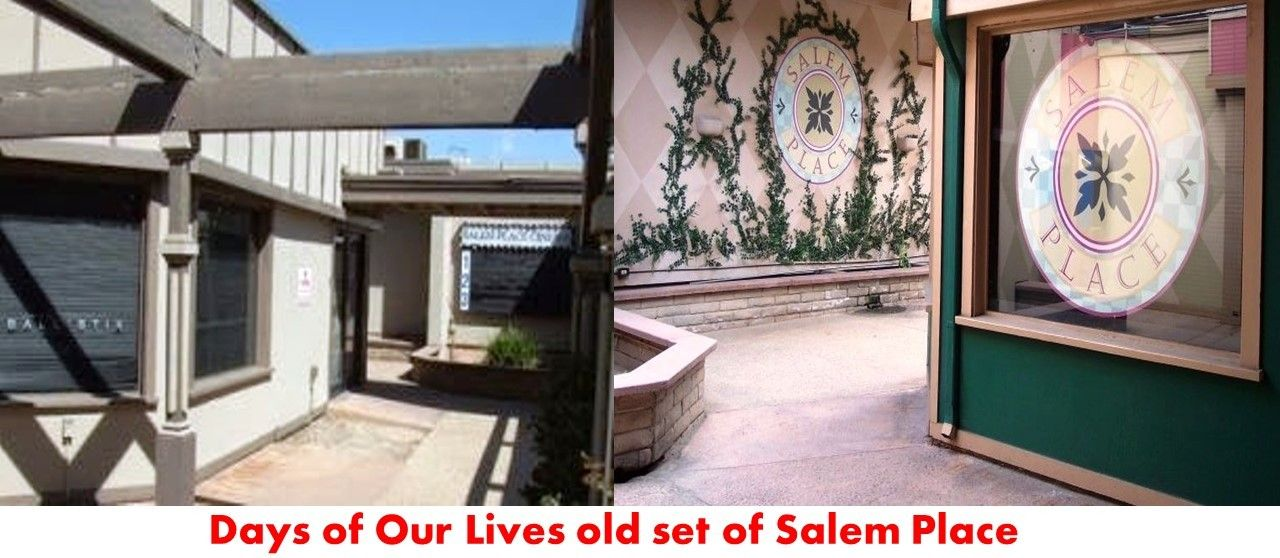 Days of our Lives set of Salem Place. Not sure what year this was ...