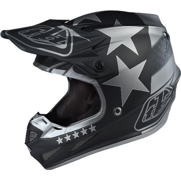 c4375ee1a2aed Troy Lee Designs SE4 Composite Helmet - Freedom Black
