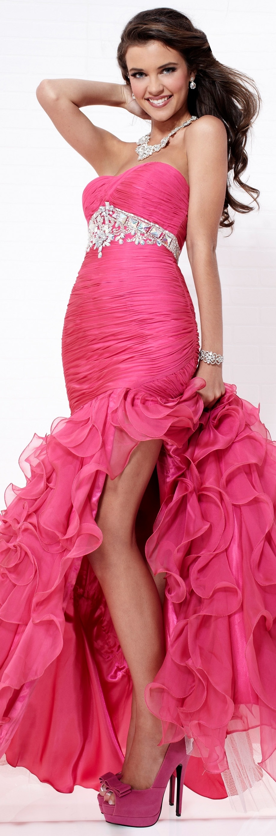 Tiffany couture... with different shoes!!! | Vestidos Gala/Fiesta ...