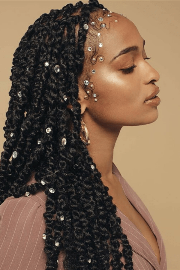 50 Stunning Passion Twists Hairstyles - Curly Girl Swag