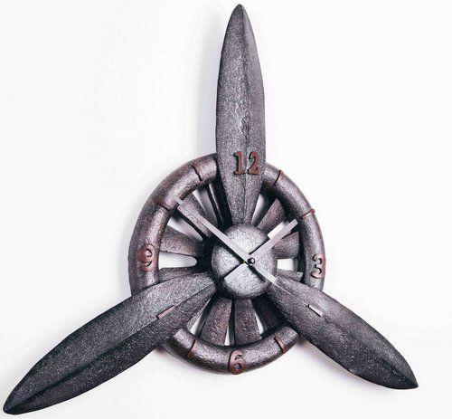 Aircraft Propeller Wall Clock Propeller Wall Wall Clock Flat Ideas