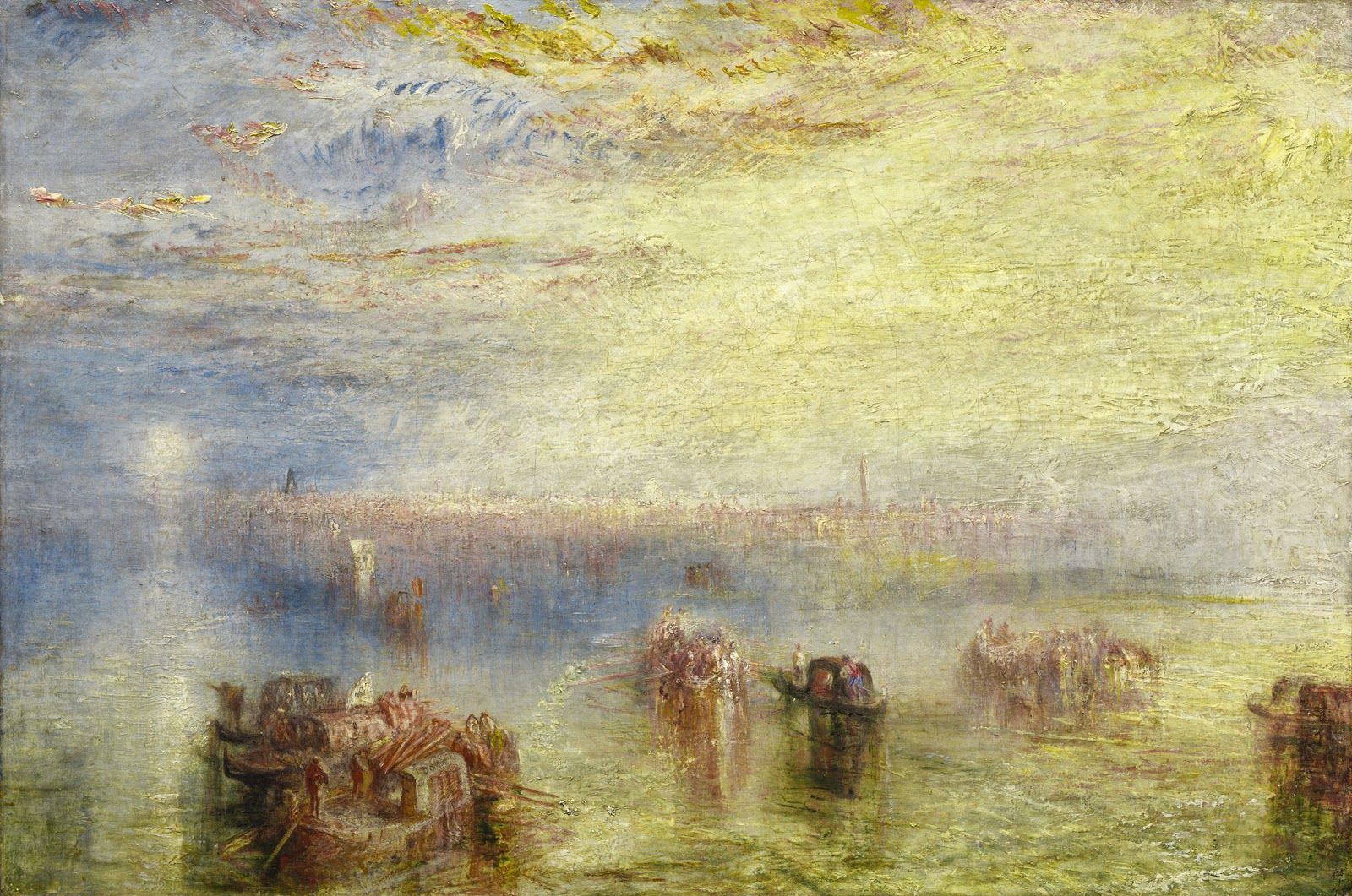 J.M.W.Turner, Approach to Venice, 1844