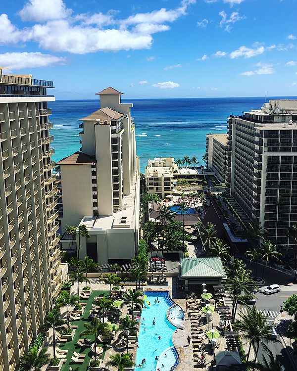 Embassy Suites Waikiki Beach Walk Oahu Hawaii Travel
