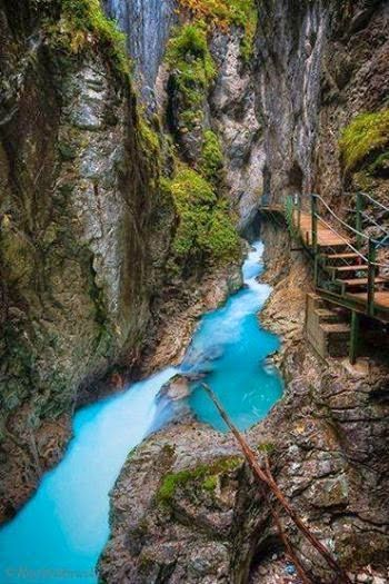 Amazing places to go for special occasions. Birthdays, anniversaries, valentine's day, graduation gifts, etc. - Leutasch Gorge, Bavaria, Germany
