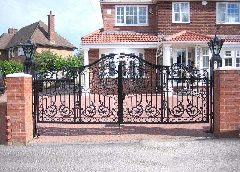 porte en fer forge portail 800 574 ornamental gate pinterest gate. Black Bedroom Furniture Sets. Home Design Ideas