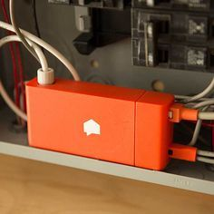 The Sense Home Energy Monitor tracks energy use in real time at the