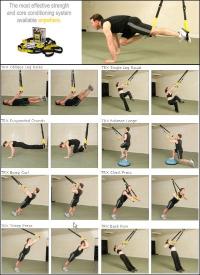 tabla ejercicios trx espalda
