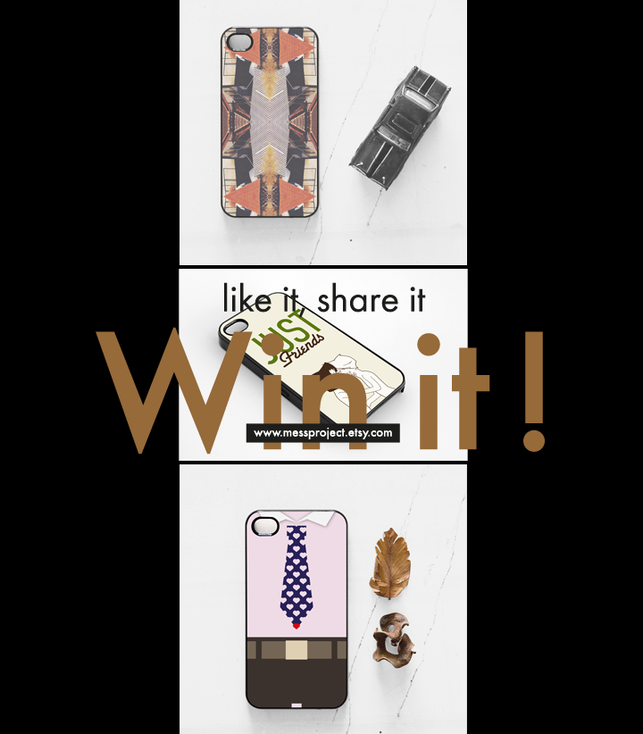 November giveaway. These three cases designed by Mess Project are waiting for the lucky owners to meet them! To enter the giveaway visit our fb page here like our page if you haven't already and li... #giveaway #etsy