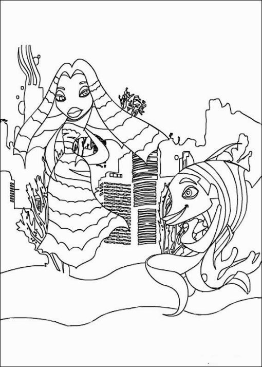 Coloring Pictures Of Sharks Harry Potter Coloring Pages