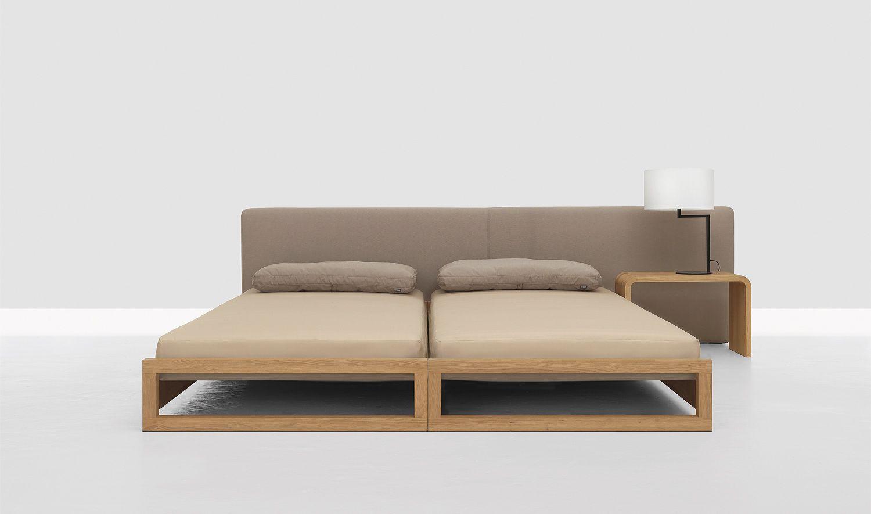 Stapelbett Guest Eiche 90 x 200 cm Schlafzimmermöbel