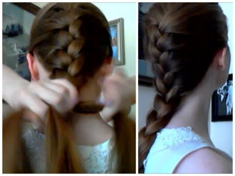 how to french braid your own hair behind your head youtube how to french braid your own hair behind your head youtube ccuart Choice Image