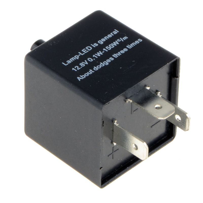 12 فولت 3 Pins تعديل التردد الصمام المتعري التتابع للدراجات النارية بدوره إشارة المؤشر نارية فيكس المؤشر الوامض Car Flash Motorbikes Led