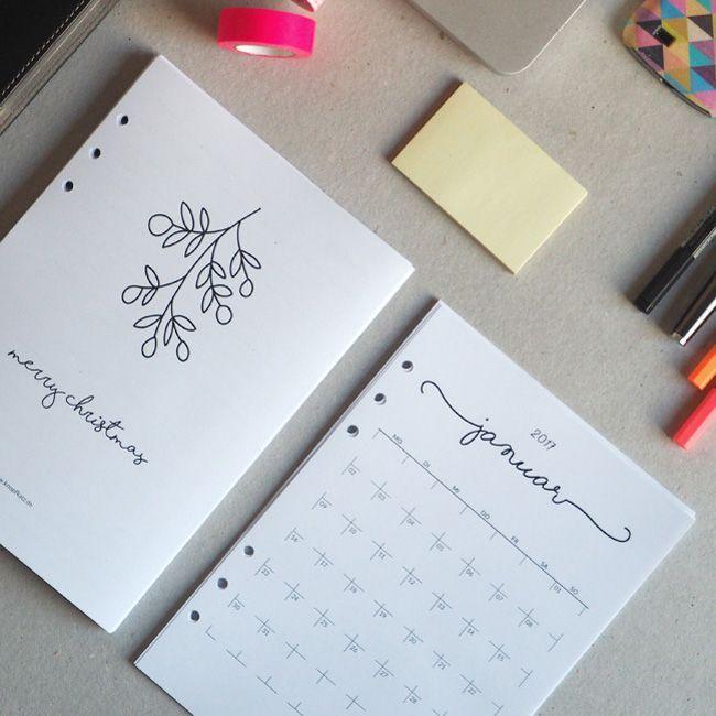 ringkalendereinlagen 2017 zum kostenlosen selbst ausdrucken kalender pinterest ausdrucken. Black Bedroom Furniture Sets. Home Design Ideas