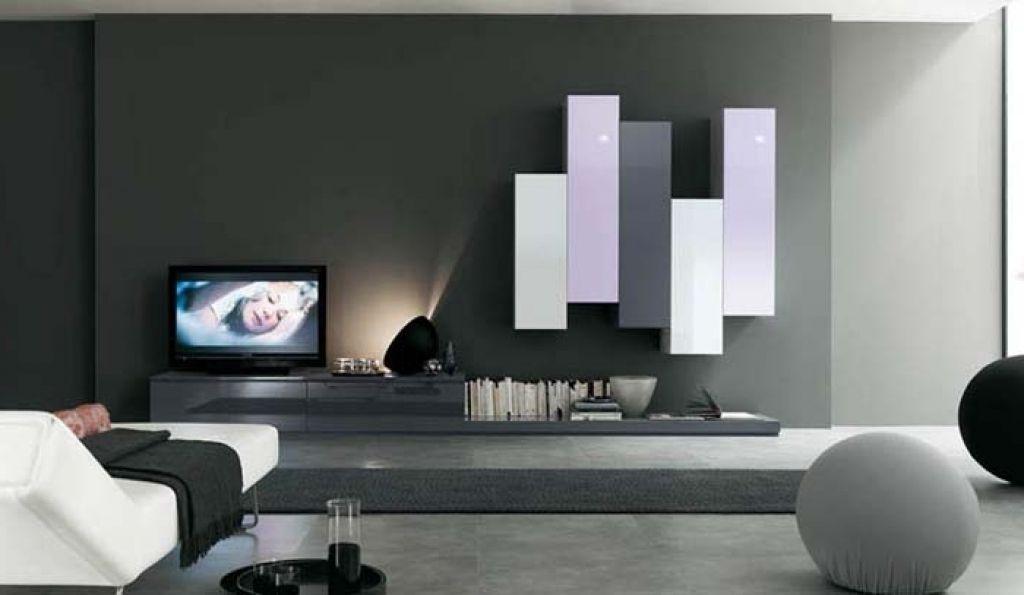 wohnzimmerwand modern design wohnzimmer gardinen and ...