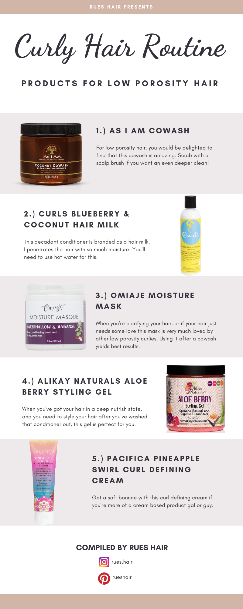Curly Hair Routine For Low Porosity Hair Products Low Porosity Hair Products Curly Hair Routine Curly Hair Styles