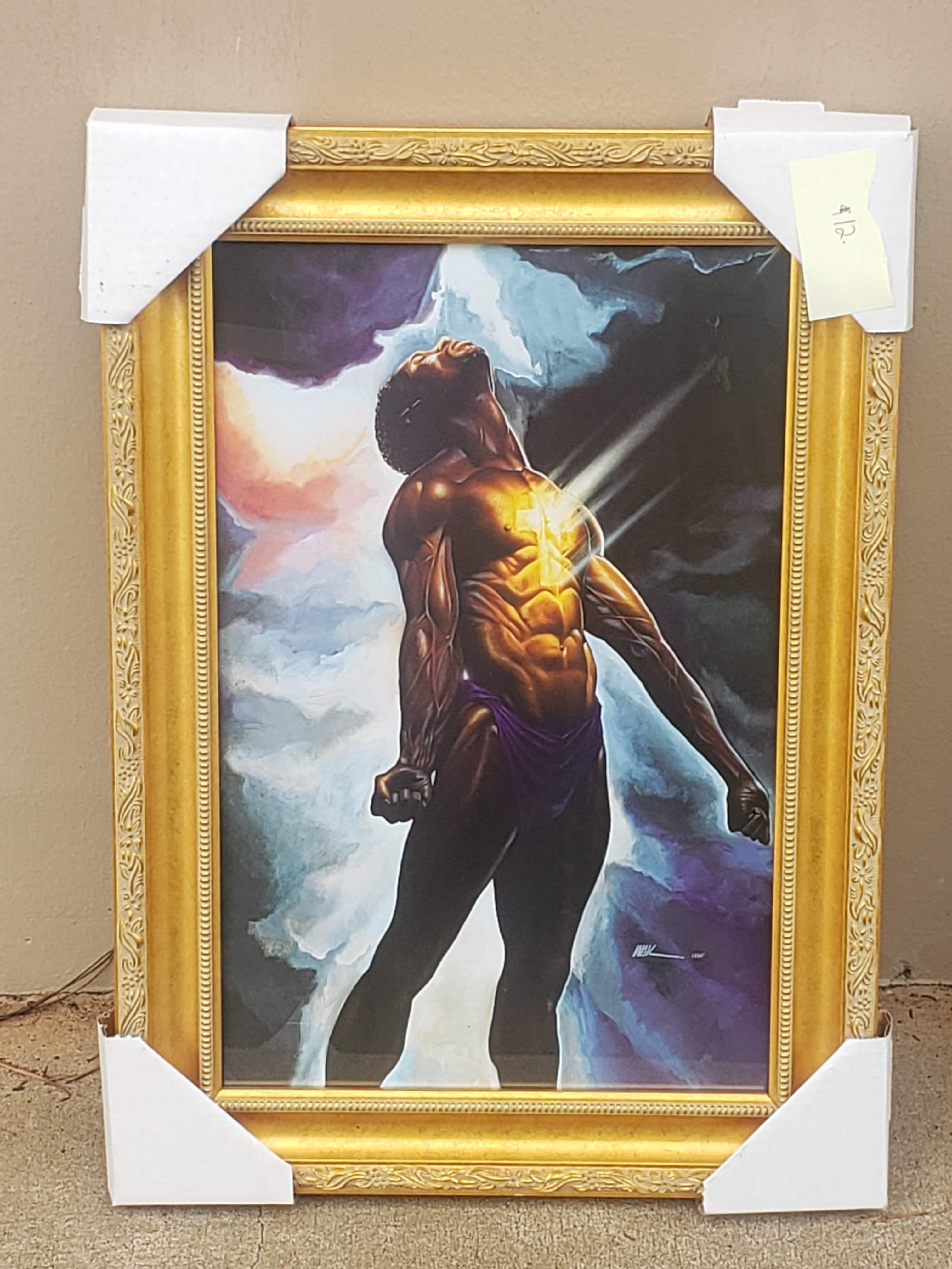 God Is In Me in 2020 African american artwork, Black art